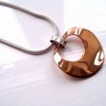 copper-ripple-pendant