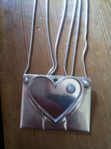 All the pendants together forming a great big heart!