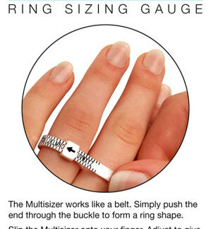 UK ring sizer