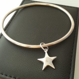 You're a star silver bangle