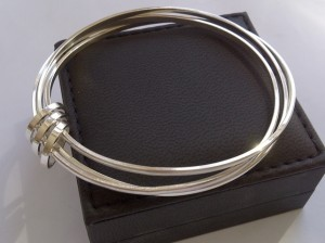 Silver Russian Wedding Bangle