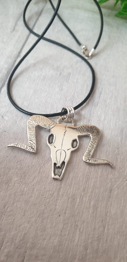 Aries Ram Skull Necklace