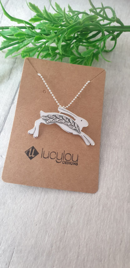 Spring-Silver-Hare-Pendant-scaled