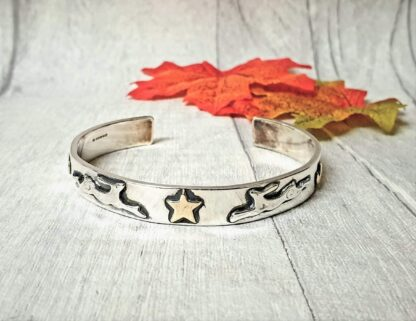 Hare Moon and Stars Cuff
