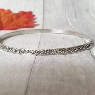 Patterned Bangle